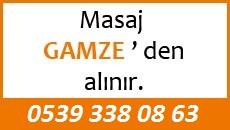 Masöz Gamze Eskişehir