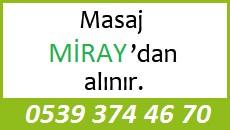 Masöz Miray Eskişehir