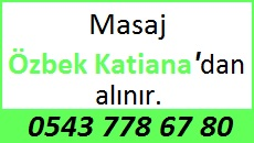 Özbek Masöz Katiana