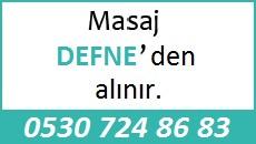 Masöz Defne Eskişehir