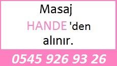 Masöz Hande Eskişehir