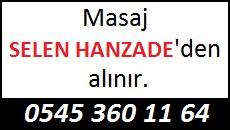 Masöz Selen Hanzade Eskişehir