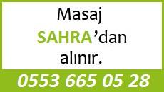 Masöz Sahra Eskişehir