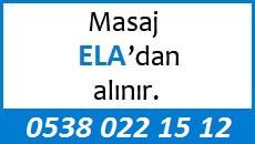 Masöz Ela Eskişehir