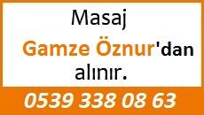 Masöz Gamze Öznur Eskişehir