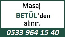 Masöz Betül Eskişehir