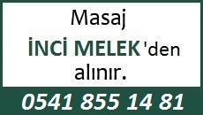 Masöz İnci Melek Eskişehir