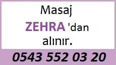 Masöz Zehra Eskişehir