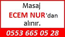 Masöz Ecem Nur Eskişehir