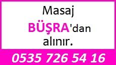 Masöz Büşra Eskişehir